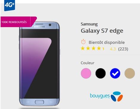 Le Galaxy A3 et A5 2017 disponibles le 03 février chez Bouygues ...