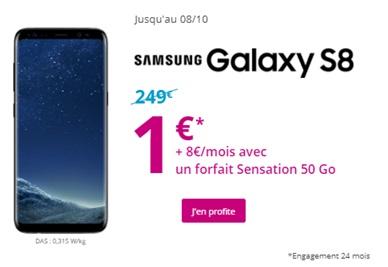 samsung Galaxy S8 en promo chez Bouygues Telecom