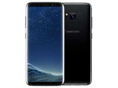 Le Samsung Galaxy s8 de face et de dos