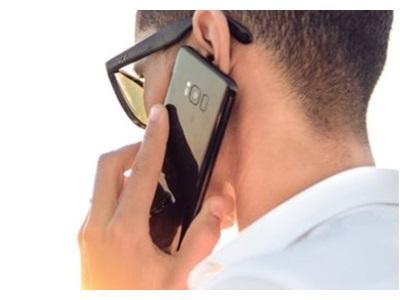 Samsung Galaxy S8 vues de face