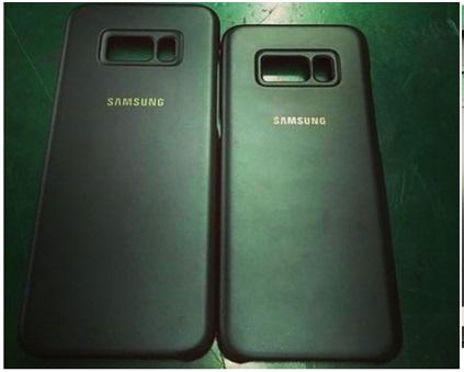 Galaxy S8 et S8 Plus : les visuels des coques fuitent sur la toile