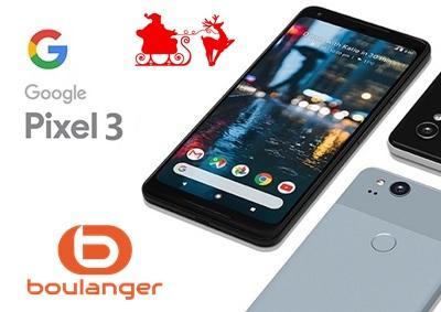 Bon plan : obtenez le Google Pixel 3 pour 65,9€ par mois sans frais chez Boulanger.