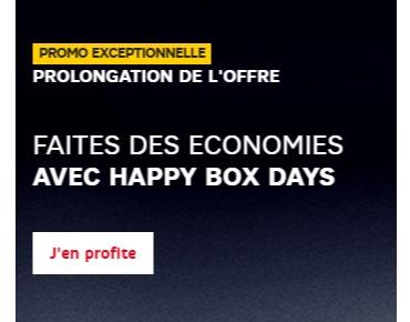 Votre pack SFR Box et mobile dès 4.99 euros grâce à l'opération Happy BOX Days