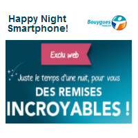 bouygues telecom happy night smartphone