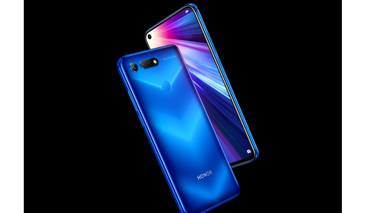 honor view 20 vus de face et de dos