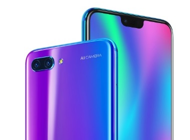 Vues du honor 10
