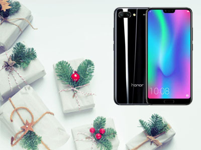 Le Honor 10 de face et de dos