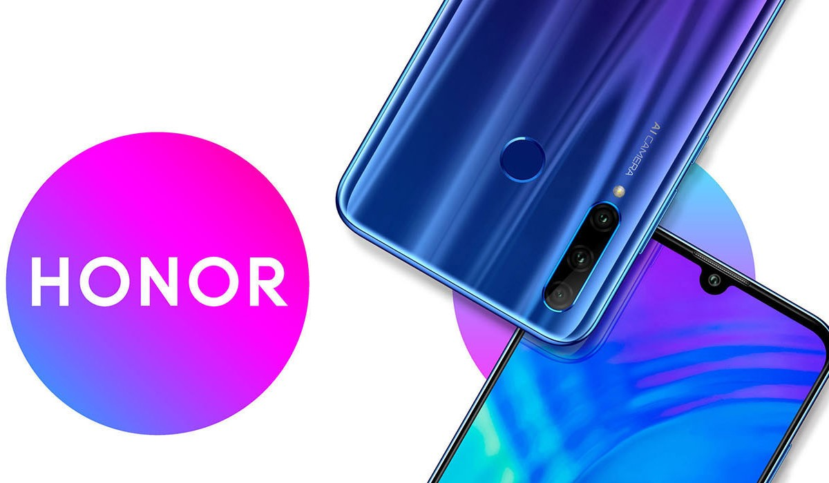 vue du honor 20 lite