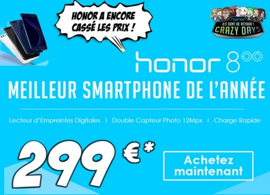 honor 8, blackfriday super promo