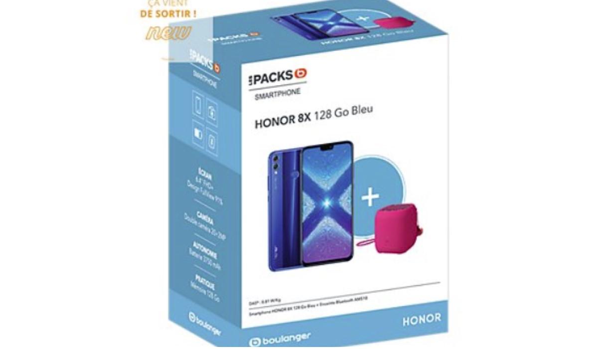 Bon plan : le Honor 8x 128Go + une enceinte AM510 à seulement 229 euros chez Boulanger