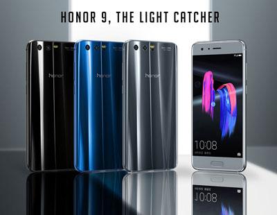 Les différents coloris du Honor 9