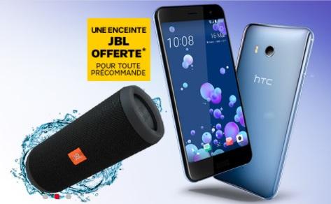 Le HTC U11 est en précommande chez SFR avec une enceinte offerte pour le lancement