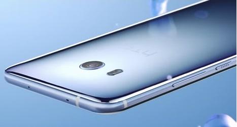 Le HTC U11 vue de dos