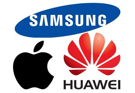 Smartphones : Huawei et Oppo progressent, Apple et Samsung perdent des parts de marché