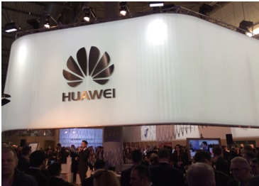Stand Huawei sur le MWC2016