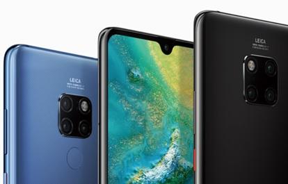 Top Promo : Le Huawei Mate 20 à 689€ + 100€ de bon d'achat Amazon