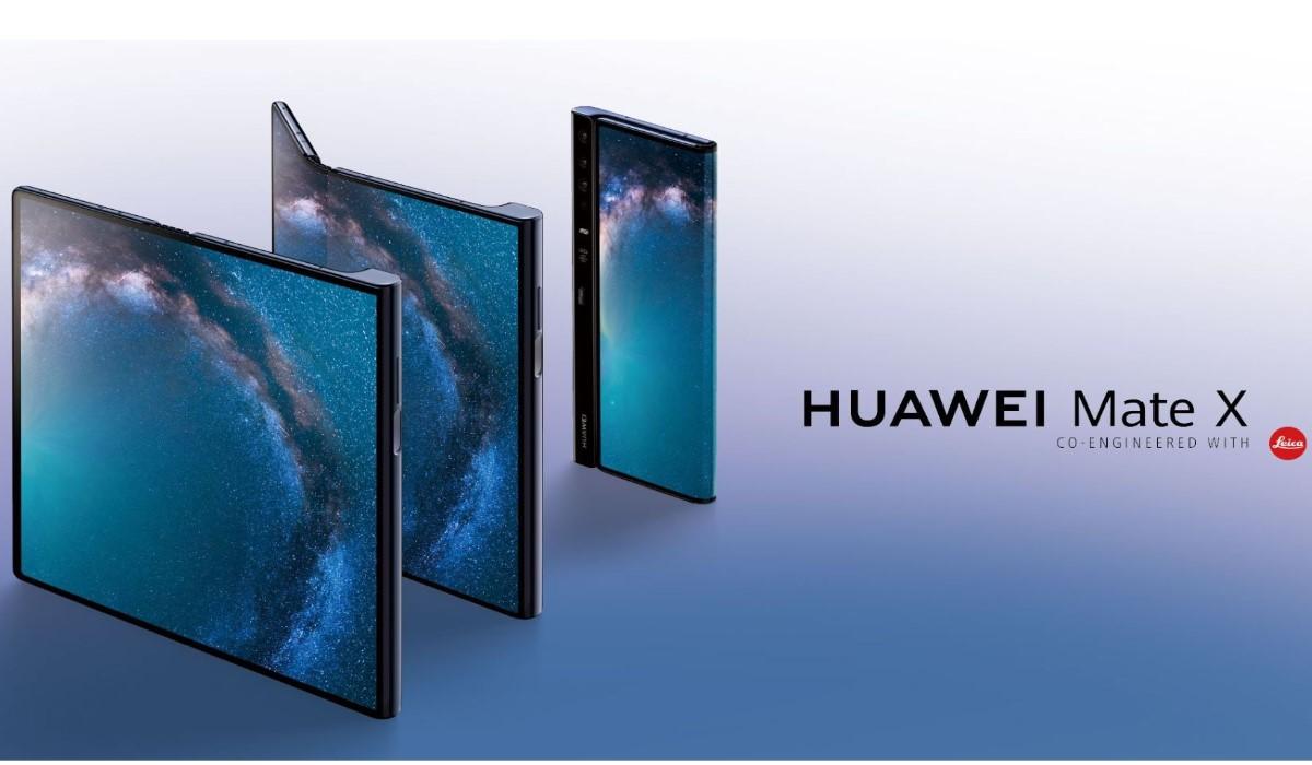 Le Mate X, le Smartphone pliable de Huawei annoncé lors du MWC 2019
