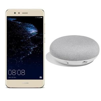 Image du Huawei P10 Lite et du Google Home