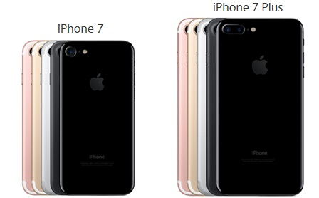 iPhone 7 et iPhone 7 plus rupture de stock
