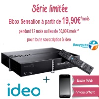 bouygues Telecom offre internet IDEO