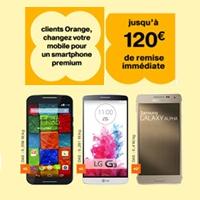 promo Orange mobile smartphone