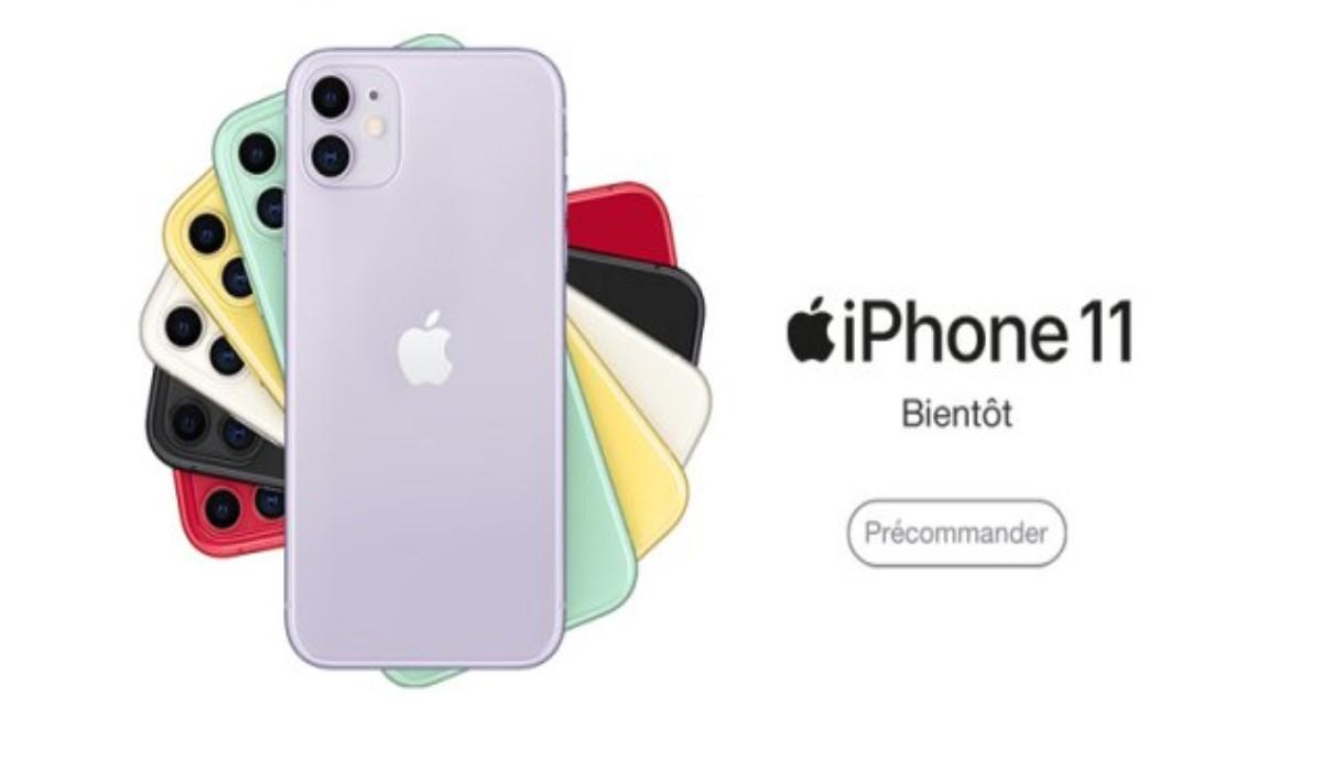 Précommande de l'iPhone 11 :  Quel est son prix avec un forfait mobile Orange, SFR ou Bouygues Telecom ?