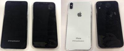 iPhone 2018 : Des clichés dévoilent leur design