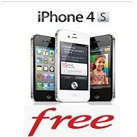 iPhone 4S et iPhone 4 enfin disponibles chez Free Mobile