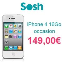 iphone 4 16 go occasion sosh