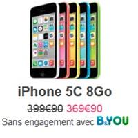 Bon plan : Baisse de prix de l'iPhone 5C et 50€ remboursés avec un forfait Bouygues Telecom !