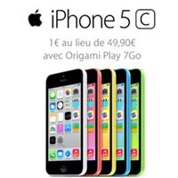 Bon plan du Web : L'iPhone 5C 8Go en vente flash à 1€ chez Orange !