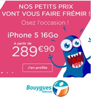iphone 5 occasion Bouygues telecom