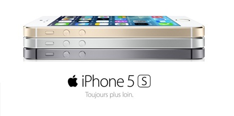 L'iPhone 5s en vente flash chez SOSH à 299 euros