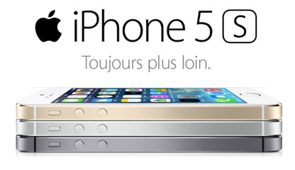 iphone 5s au meilleur prix avec un forfait b you de bouygues telecom. Black Bedroom Furniture Sets. Home Design Ideas