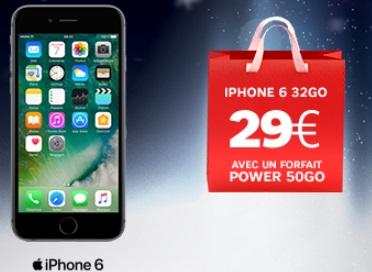 Profitez des soldes pour vous offrir un iPhone 6 à prix préférentiel avec l'opérateur SFR