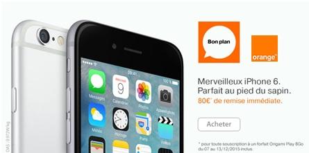 iPhone 6 et iPhone 6 Plus en vente flash chez Orange
