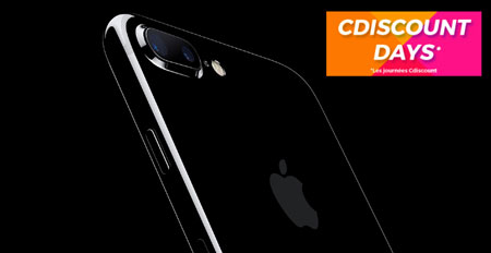 Cdiscount Days : Procurez-vous l'iPhone 7 à 509.99 euros