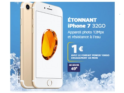 iPhone 7 en vente flash chez SFR