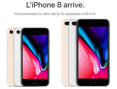 iPhone 8   ouverture des précommandes le 15 septembre, quel sera son prix  avec un forfait mobile   4aa375b0febc