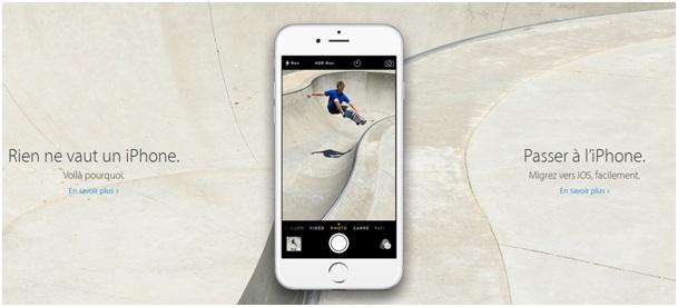 iphone se iphone 5s iphone 6s iphone 6 les prix avec. Black Bedroom Furniture Sets. Home Design Ideas