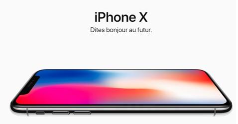 iPhone X dites bonjour au futur