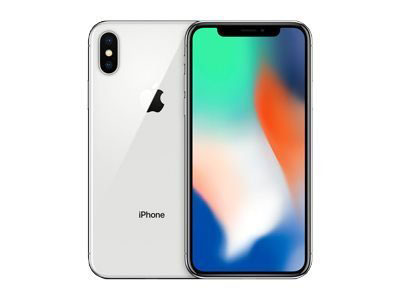 L'iphone x de face et de dos