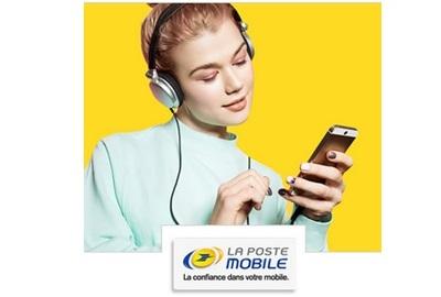vente privée La poste mobile 30Go à 9.99€