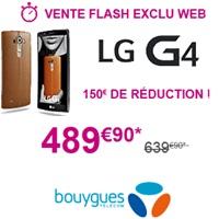 lg g4 vente flash bouygues telecom