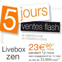 livebox zen promotion