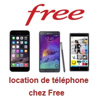 location de smartphone free mobile
