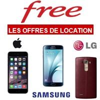 Smartphone haut de gamme en location chez Free