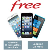 location smartphone free mobile nouvelle liste