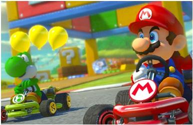 Jeu de course Mario Kart