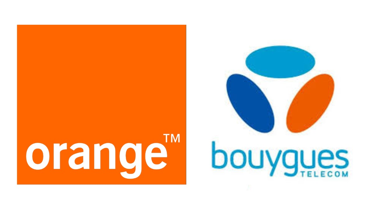 logo orange et bouygues telecom